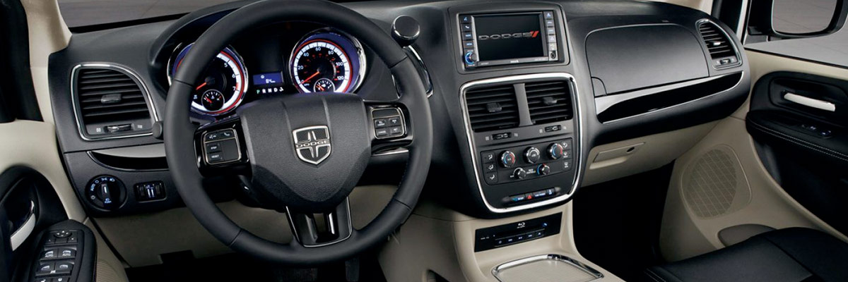 2018 Dodge Grand Caravan Interior & Technology