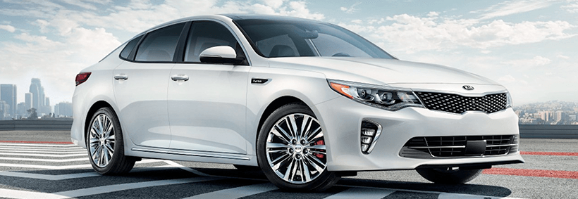 The 2018 Kia Optima exterior