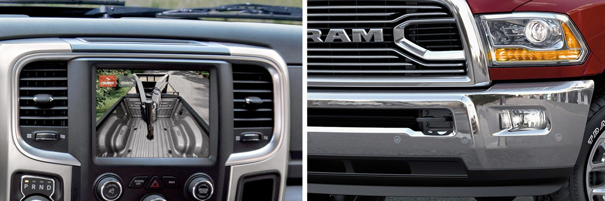 2018 Ram 2500 Safety Features