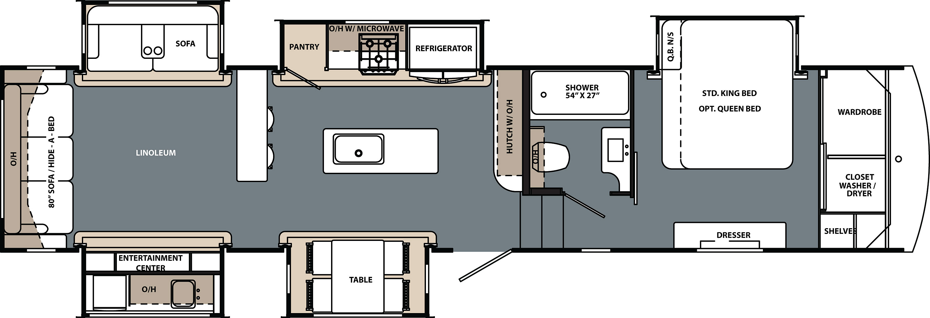Buy a Forest River Cardinal Limited Fifth Wheel RV in Knoxville, TN