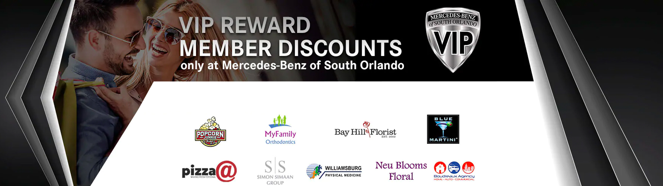 Mercedes-Benz of South Orlando VIP Reward Member Discounts