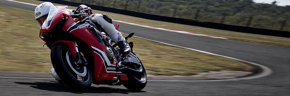 2019 Honda CBR1000RRon track