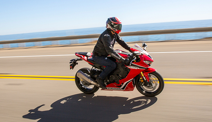 2019 Honda CBR1000RR on road